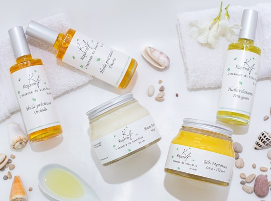 Gamme Kajame Revendeur cosmétiques naturels